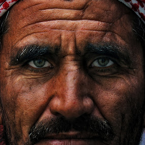 AFGHAN by Angelito Cortez - People Portraits of Men ( face, old, nose, pwcfaces-dq, eyes )
