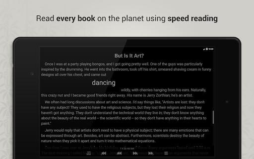 Reedy. Intelligent reader - screenshot