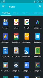 Verticons Icon Pack Screenshot