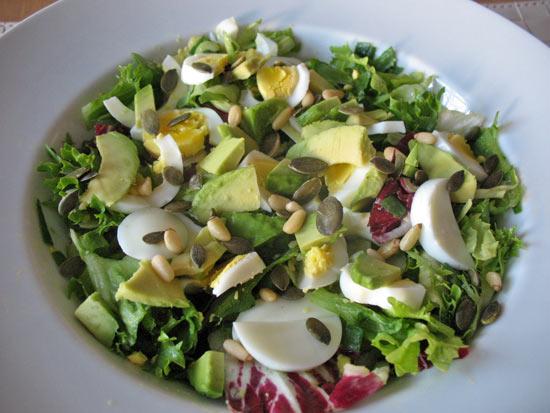 Crunchy Egg Salad With Avocado Recipe | Yummly