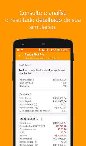 Investments Calculator - PRO - screenshot