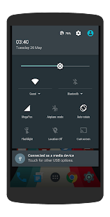 AOSP Dark Material CM13 THEME - screenshot
