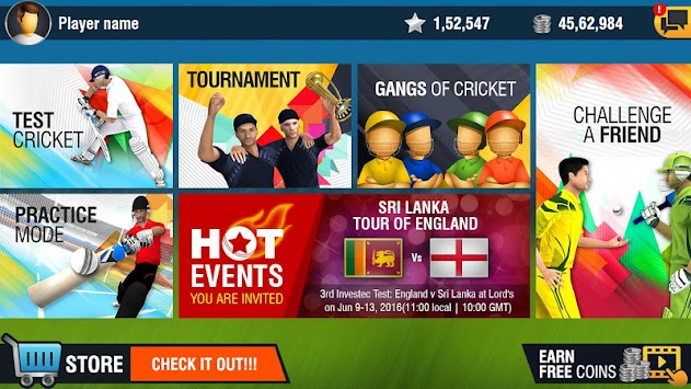 مسابقات قهرمانی کریکت جهان 2 apk screenshot
