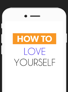 How To Love Yourself - screenshot