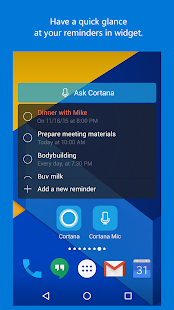 Cortana- screenshot thumbnail