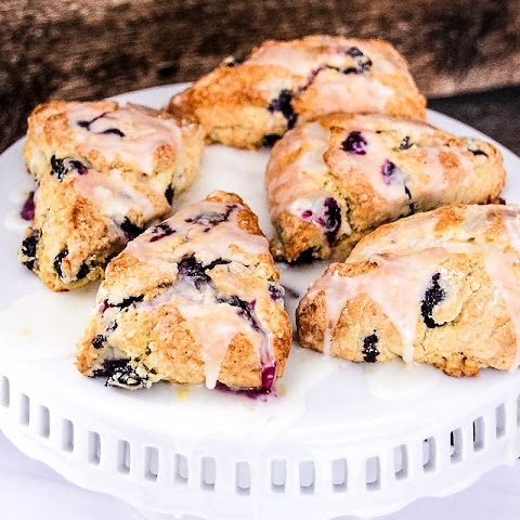 Blueberry Lemon Scone