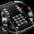 Gloss Black Phone Dialer Theme 2.0
