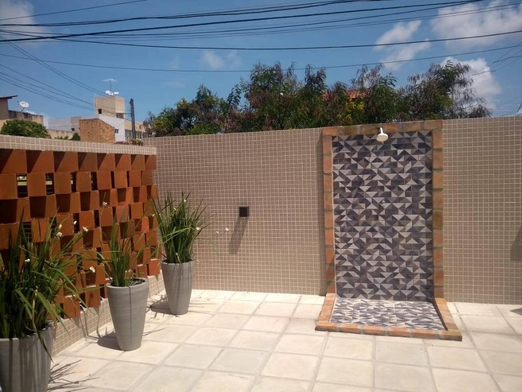Apartamento Térreo com 2 dormitórios à venda, 59 m² por R$ 195.000 - Bessa - João Pessoa/PB