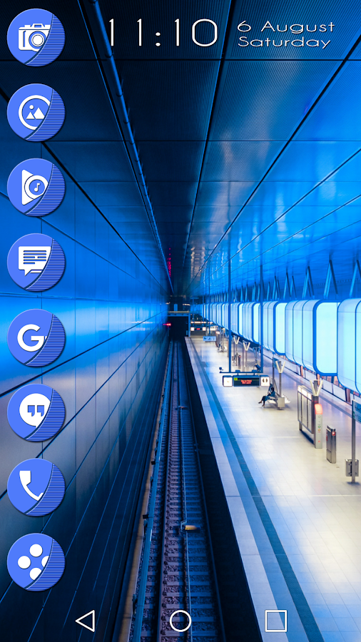 Naz Blue - Icon Pack Screenshot 6