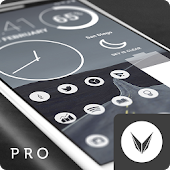 Light Void Pro - Weiß Minimal Icons