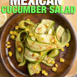 Mexican Cucumbers Recipes