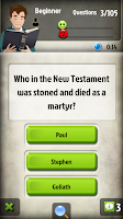 Screenshot of Bible Trivia Game