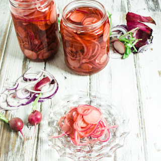 Pickled Red Onion and Radish
