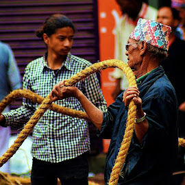 by Aaditya Yadav - People Street & Candids