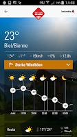 Screenshot of Wetter-Alarm®