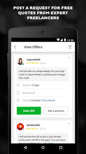 Fiverr - Freelance Services Screenshot