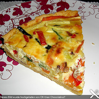 Vegetable Quiche No Pastry Recipes