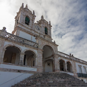 The Shrine of Our Lady of Nazareth by Rui Medeiros - Buildings & Architecture Places of Worship ( sanctuary, nazaré, buldings, church, place of worship, portugal, places of interest, churches )