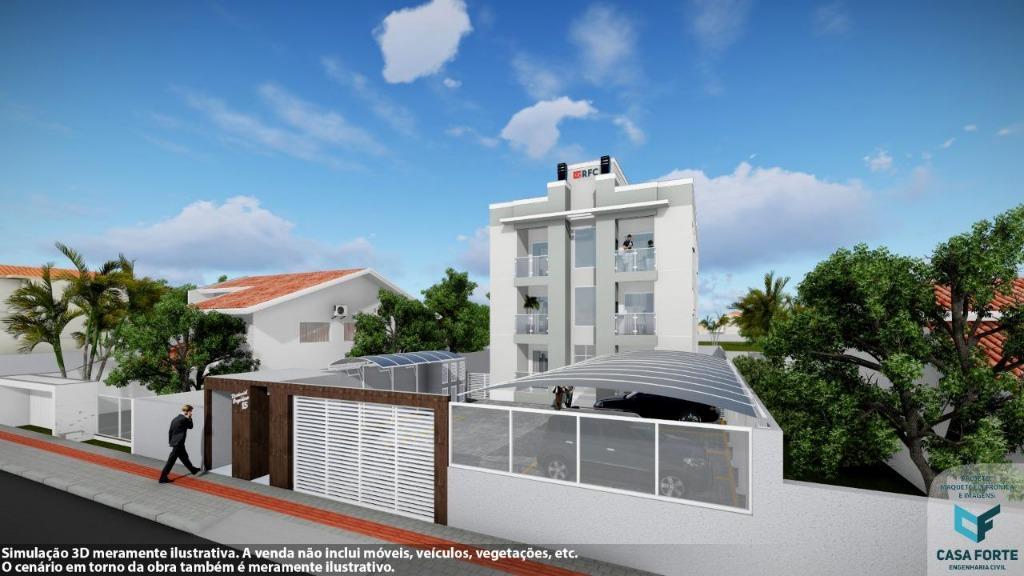 Apartamento com 2 dormitórios à venda, 60 m² por R$ 188.000,00 - Mata Atlântica - Tijucas/SC