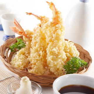 Tempura-Battered Fried Shrimp