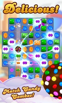 Candy Crush Saga APK screenshot thumbnail 1
