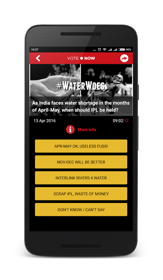 MyVote Today Screenshot 1