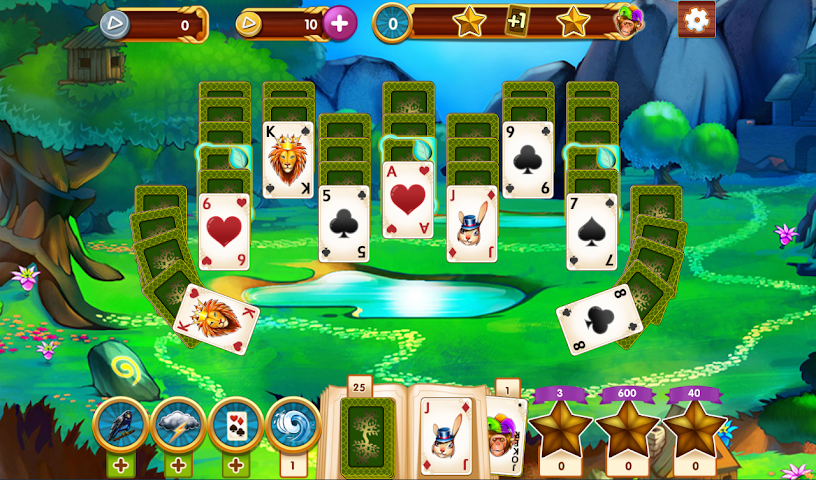 android Paradise Solitaire Screenshot 0