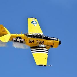 Air Show by Gosia Lukowiak - Transportation Airplanes ( plane, transportation )