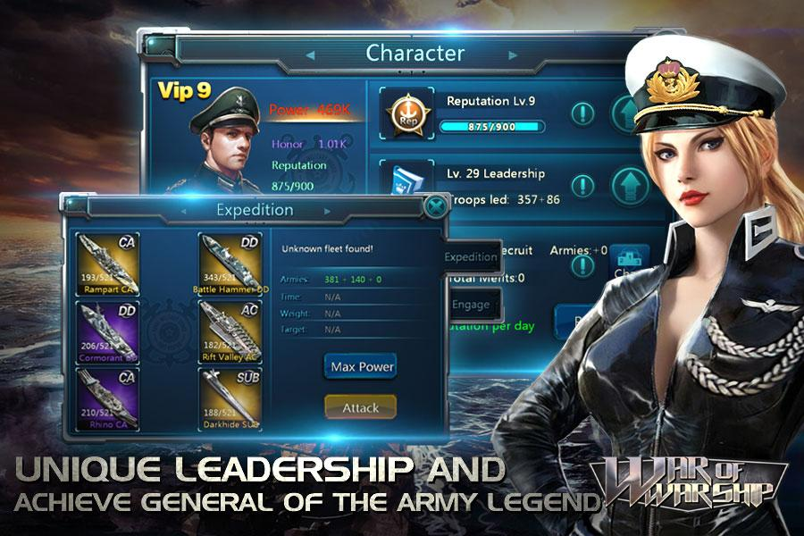 War of Warship Screenshot