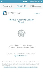 Fortiva Account Center