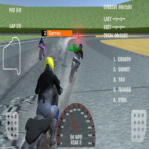 3D Motorcycle Driver Racing