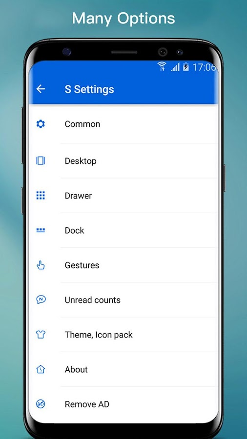 S S8 Launcher - Galaxy S8 Launcher, theme, cool Screenshot 6