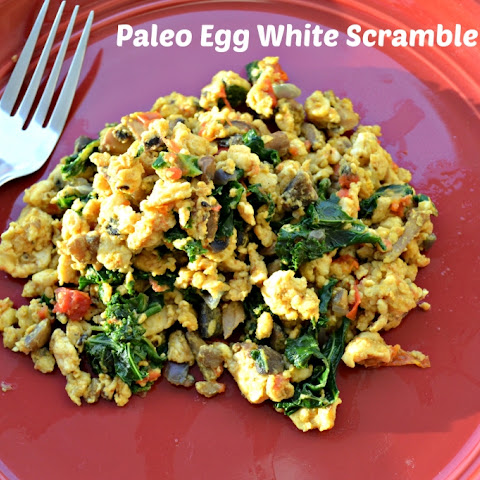 Paleo Breakfast Egg White Scramble