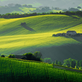 Land Shapes by Emanuele Zallocco - Landscapes Mountains & Hills
