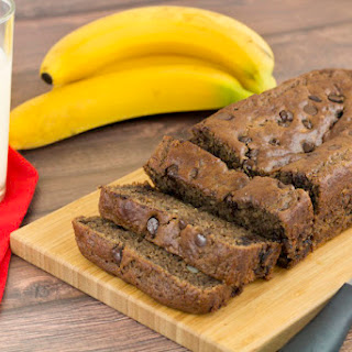 Gluten Free Chocolate Chip Banana Bread
