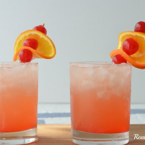 Tropical Sunset Cocktail