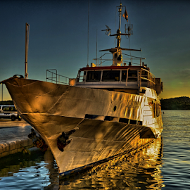 Lara by Nino Teo Photography - Transportation Boats ( lara, croatia, šibenik, sea, dalmatia, boat )