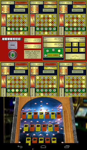 android Pinball Bingo Machine Screenshot 2