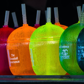 Cool Colours by Tom Bowman - Novices Only Objects & Still Life ( cool, vivid colours, ice, snowball, colours,  )
