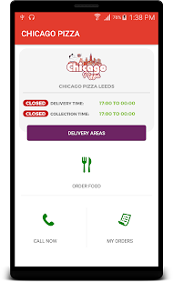 CHICAGO PIZZA LEEDS - screenshot