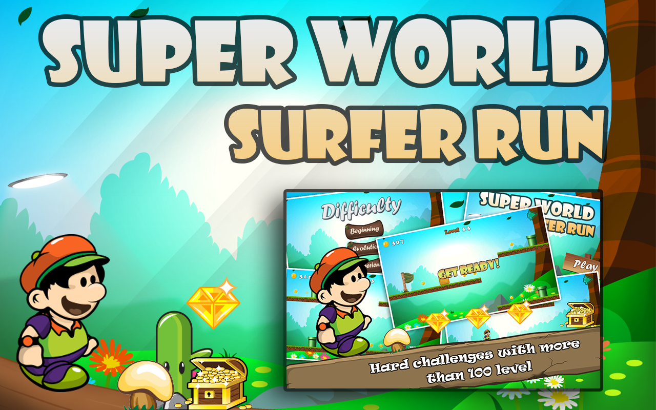 Super World Surfer Run Screenshot 0