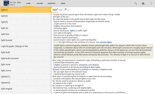 OfficeSuite Oxford Dictionary screenshot 7