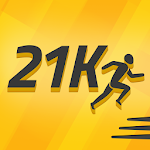 Half Marathon Training Coach Icon