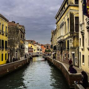 Venice by Oguz Sevim - Buildings & Architecture Public & Historical ( venice canals, canals, venice, venice italy, bridge, italy )