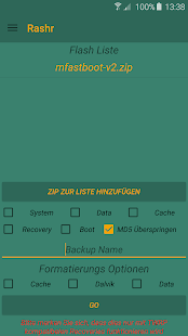 [ROOT] Rashr - Flash Tool- screenshot thumbnail