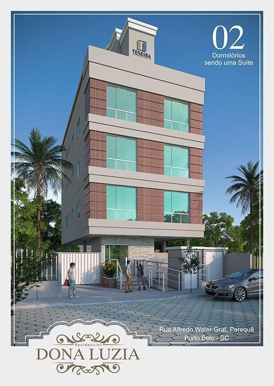 Apartamento com 2 dormitórios à venda, 56 m² por R$ 315.000,00- Perequê - Porto Belo/SC