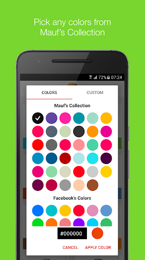 Mauf - Messenger Color & Emoji screenshot 2