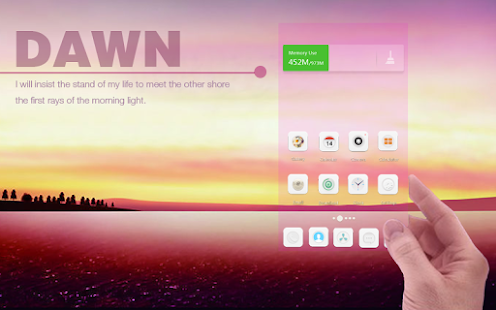 Dawn  Launcher - screenshot