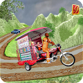 Drive Hill Chingchi Rickshaw: Offroad Driving APK for Bluestacks