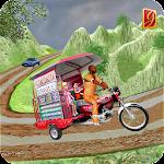 Drive Hill Chingchi Rickshaw: Offroad Driving Icon